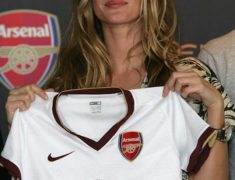 Gisele Bundchen - Arsenal