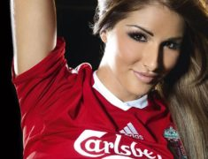 Liverpool FC - Lucy Pinder