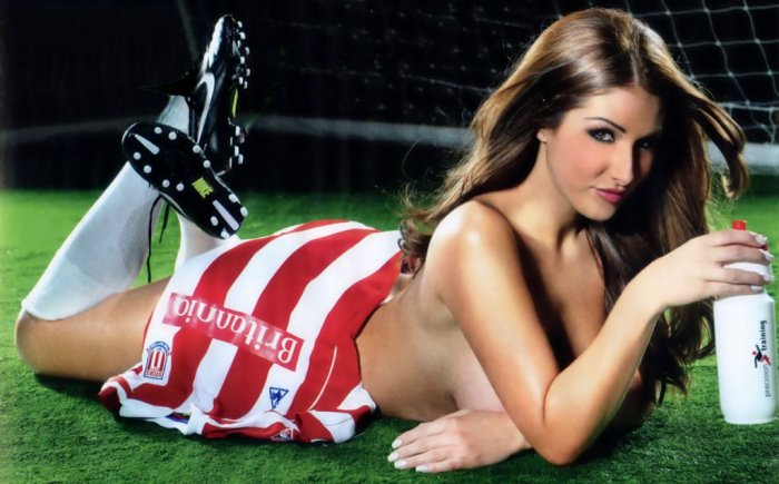 Stoke City - Lucy Pinder