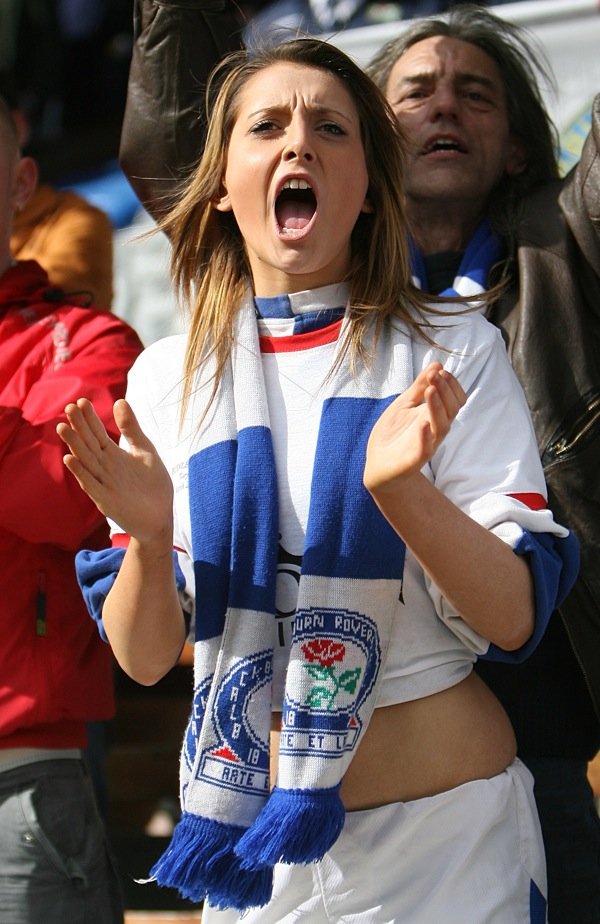 Blackburn Rovers - fanka
